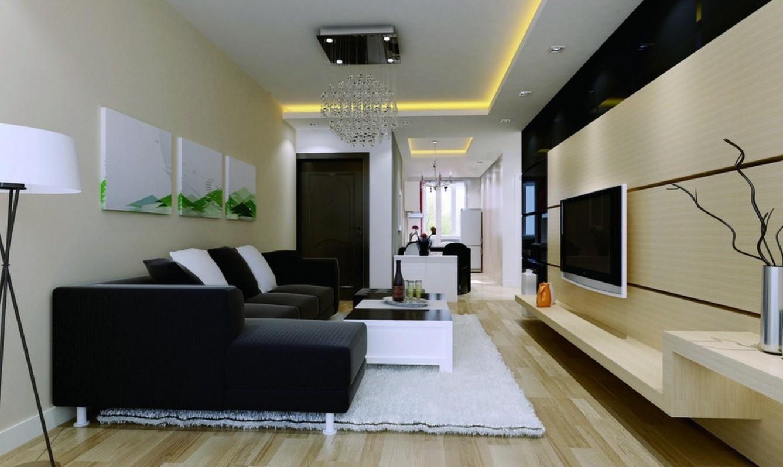 Modern-living-room-walls-decorating-ideas