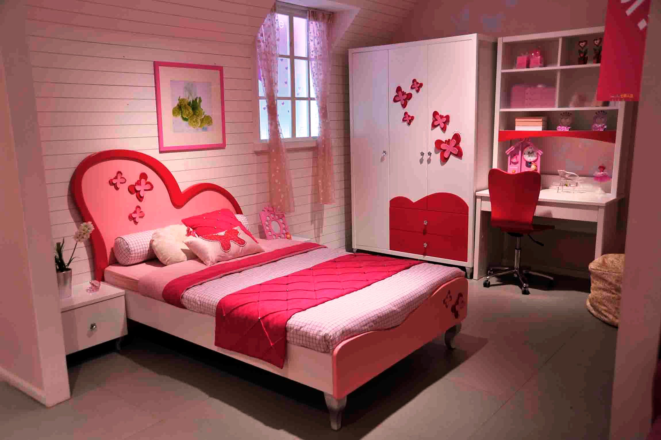 bedroom-themes-with-nice-wall-paint-color-decor-pink-lovely